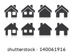 house icons | Shutterstock .eps vector #140061916