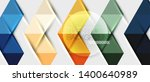 abstract geometric background.... | Shutterstock .eps vector #1400640989