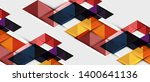 abstract geometric background.... | Shutterstock .eps vector #1400641136