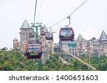 bana hill danang vietnam   7... | Shutterstock . vector #1400651603