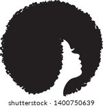 beautiful african american... | Shutterstock .eps vector #1400750639
