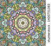 seamless tracery tile mehndi...   Shutterstock .eps vector #1400751383