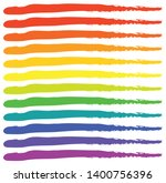 grungy rgb  rainbow colored... | Shutterstock .eps vector #1400756396