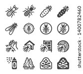 termite icon set insect and... | Shutterstock .eps vector #1400782460