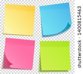 realistic sticky note with...   Shutterstock .eps vector #1400815463