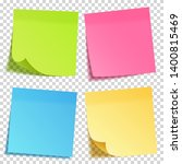 realistic sticky note with... | Shutterstock .eps vector #1400815469