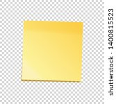 realistic sticky note with... | Shutterstock .eps vector #1400815523