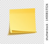 realistic sticky note with... | Shutterstock .eps vector #1400815526