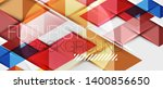 abstract geometric background.... | Shutterstock .eps vector #1400856650