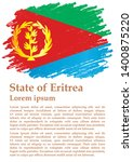 flag of eritrea  state of... | Shutterstock .eps vector #1400875220