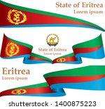 flag of eritrea  state of... | Shutterstock .eps vector #1400875223