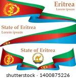flag of eritrea  state of... | Shutterstock .eps vector #1400875226