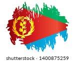 flag of eritrea  state of... | Shutterstock .eps vector #1400875259