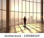 businessman speaking at sunset... | Shutterstock . vector #140088169