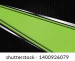 abstract green silver line... | Shutterstock .eps vector #1400926079