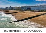 Eastbourne Beach Panorama ...