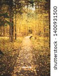 wooden boarding path way... | Shutterstock . vector #1400931500