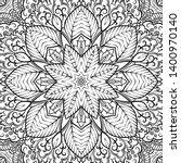 seamless tracery tile mehndi...   Shutterstock .eps vector #1400970140