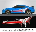 vinyls sticker decals for body... | Shutterstock .eps vector #1401002810