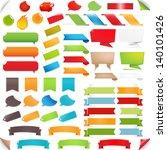 big set speech bubble and... | Shutterstock . vector #140101426