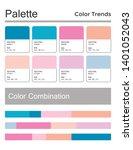 color palette  harmonious...   Shutterstock .eps vector #1401052043
