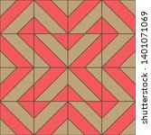 geometric seamless pattern....   Shutterstock .eps vector #1401071069