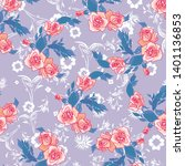 fashionable pattern in small... | Shutterstock .eps vector #1401136853