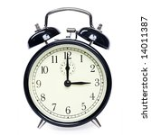 old clock isolated | Shutterstock . vector #14011387