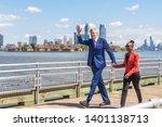 new york  ny  usa   may 16 ... | Shutterstock . vector #1401138713