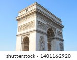triumphal arch  one of the most ... | Shutterstock . vector #1401162920