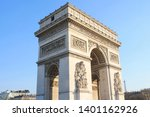 triumphal arch  one of the most ... | Shutterstock . vector #1401162926