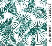 seamless pattern made with... | Shutterstock .eps vector #1401168023