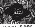 watermelons  melons and... | Shutterstock .eps vector #1401184703