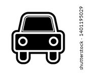 car icon. element of navigation ...