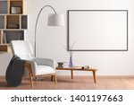 blank horizontal poster mock up ... | Shutterstock . vector #1401197663