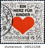 germany   circa 2008  a stamp...   Shutterstock . vector #140121208
