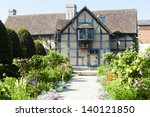 Small photo of birthplace of William Shakespeare, Stratford-upon-Avon, Warwickshire, England