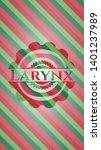 larynx christmas colors style...   Shutterstock .eps vector #1401237989