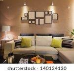 modern living room | Shutterstock . vector #140124130