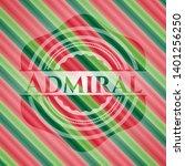 admiral christmas badge. vector ...   Shutterstock .eps vector #1401256250