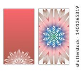 creative invitation card... | Shutterstock .eps vector #1401265319