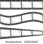 film strip backgrounds | Shutterstock .eps vector #14012656