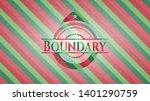boundary christmas emblem....   Shutterstock .eps vector #1401290759
