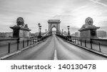 magnificent chain bridge in... | Shutterstock . vector #140130478