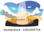 Ascension Day Illustration ...