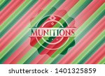 munitions christmas colors...   Shutterstock .eps vector #1401325859