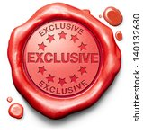 exclusive offer or vip... | Shutterstock . vector #140132680