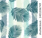 tropical pattern  palm leaves...