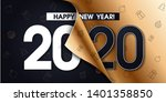 2020 happy new year background...   Shutterstock .eps vector #1401358850