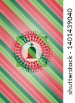 tombstone icon inside christmas ...   Shutterstock .eps vector #1401439040